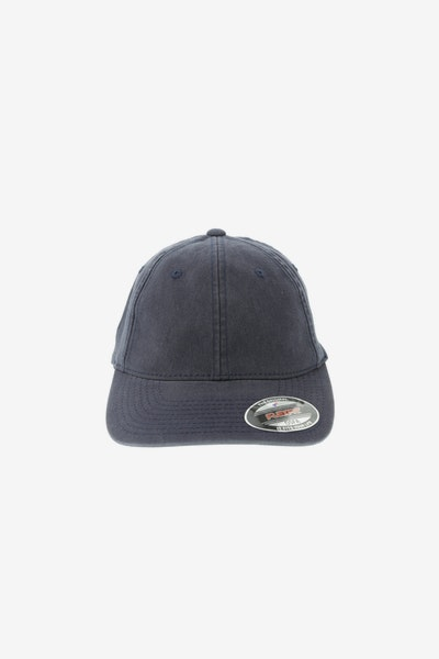 Flexfit Garment Washed Lo Pro Fitted Hat Navy