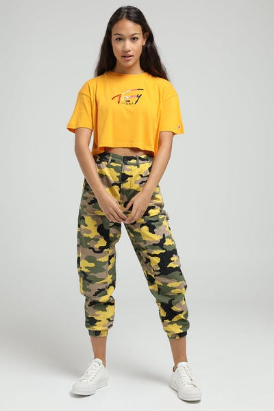 Stussy Women's Fuller Workers Pant Green Camo