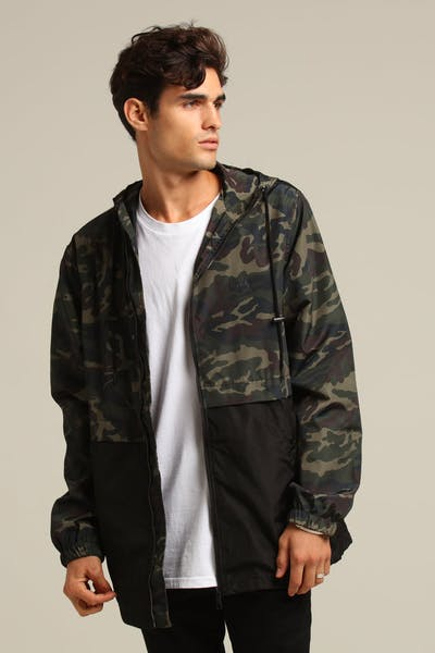 STUSSY STOCK JACKET CAMO/BLACK