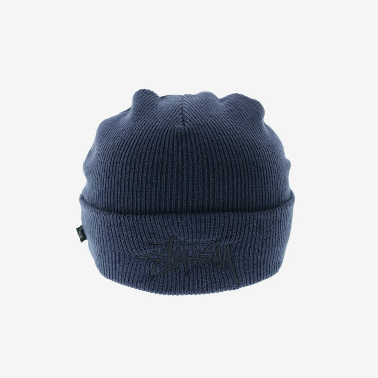 22523f0368a69 Stussy Tonal Stock Cuff Beanie Navy – Culture Kings US