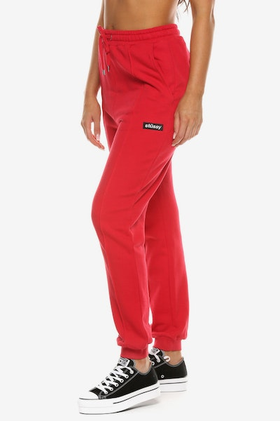 Stussy Women's Box Italic Trackpant Red