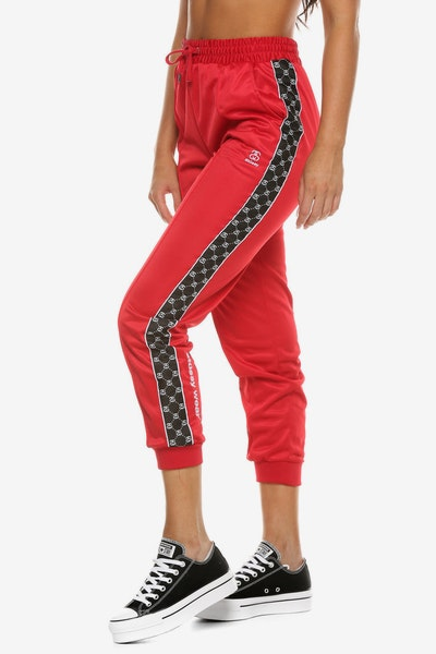 Stussy Women's Gwenn Trackpant Red