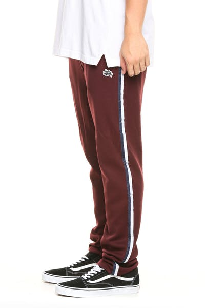 Stussy Emerson Tricot Trackpant Dark Aubergine