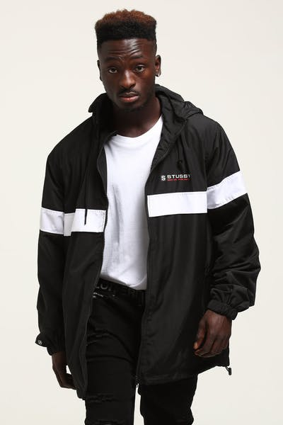 Stussy Banks Jacket Black