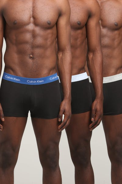 Calvin Klein Low Rise Trunk 3PK Black/Multi