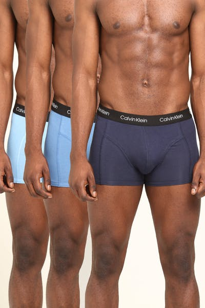 Calvin Klein CK Trunk 3Pack Black/Stripe/Blue