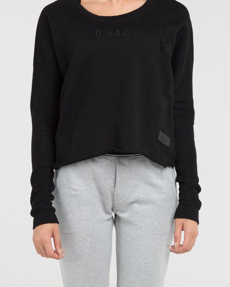 Dead Studios Rouge Destroy Women's Sweater Black