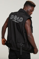 Dead Studios Sleeveless Coach Black