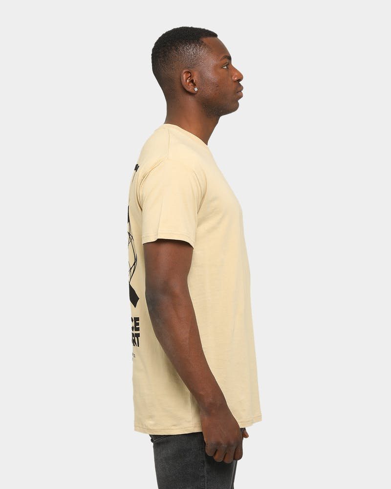 WNDRR Prosper Custom Fit T-Shirt Tan