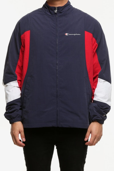 Champion Woven Jacket Navy/Red/White