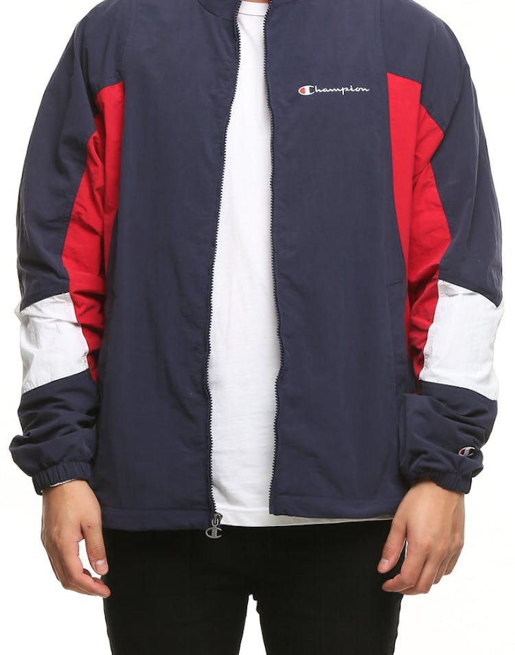 e7f753f00218 Champion Woven Jacket Navy Red White – Culture Kings US