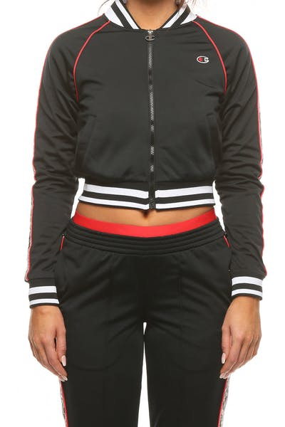 Champion Women's Track Jacket Black
