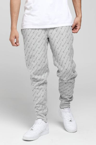 Champion Reverse Weave Jogger All-Over Dia Script Oxford Grey