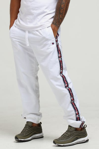 Champion Light Weight Tape Pant White