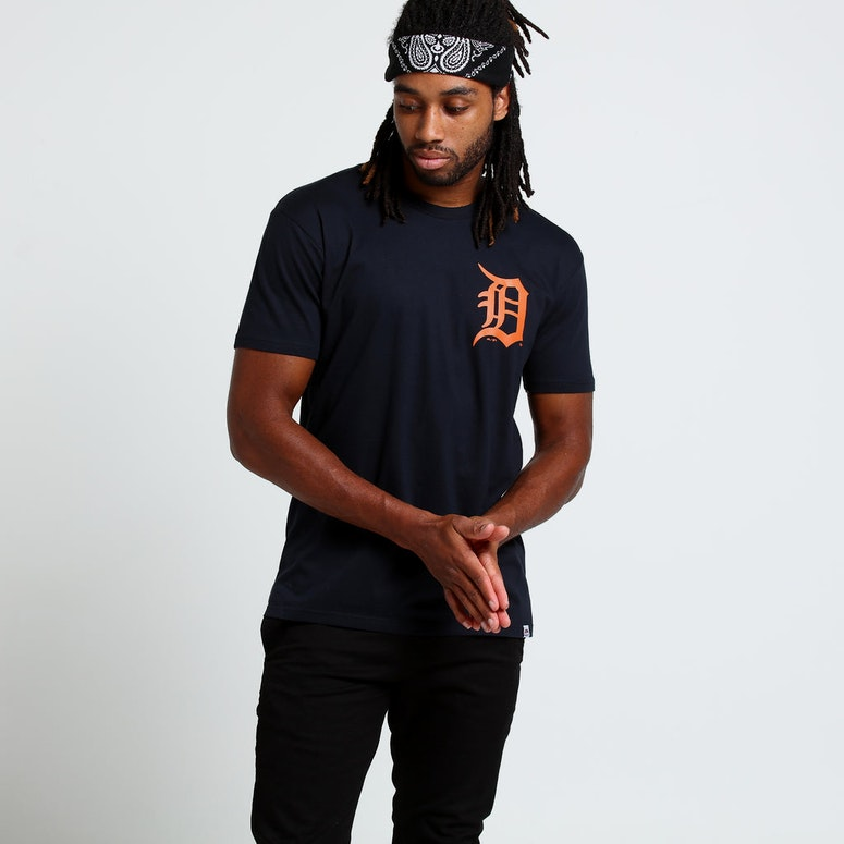 Majestic Athletic Detroit Tigers Gothley Tee Navy