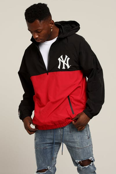 Majestic Athletic New York Yankees Bellemeade Jacket Black/Red