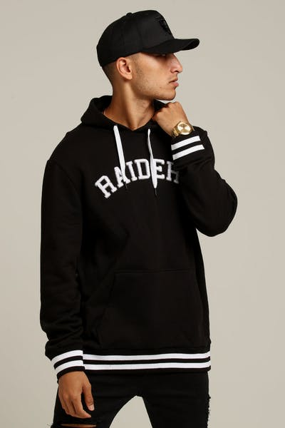 Majestic Athletic Raiders Reklaw Oth Hoody Black