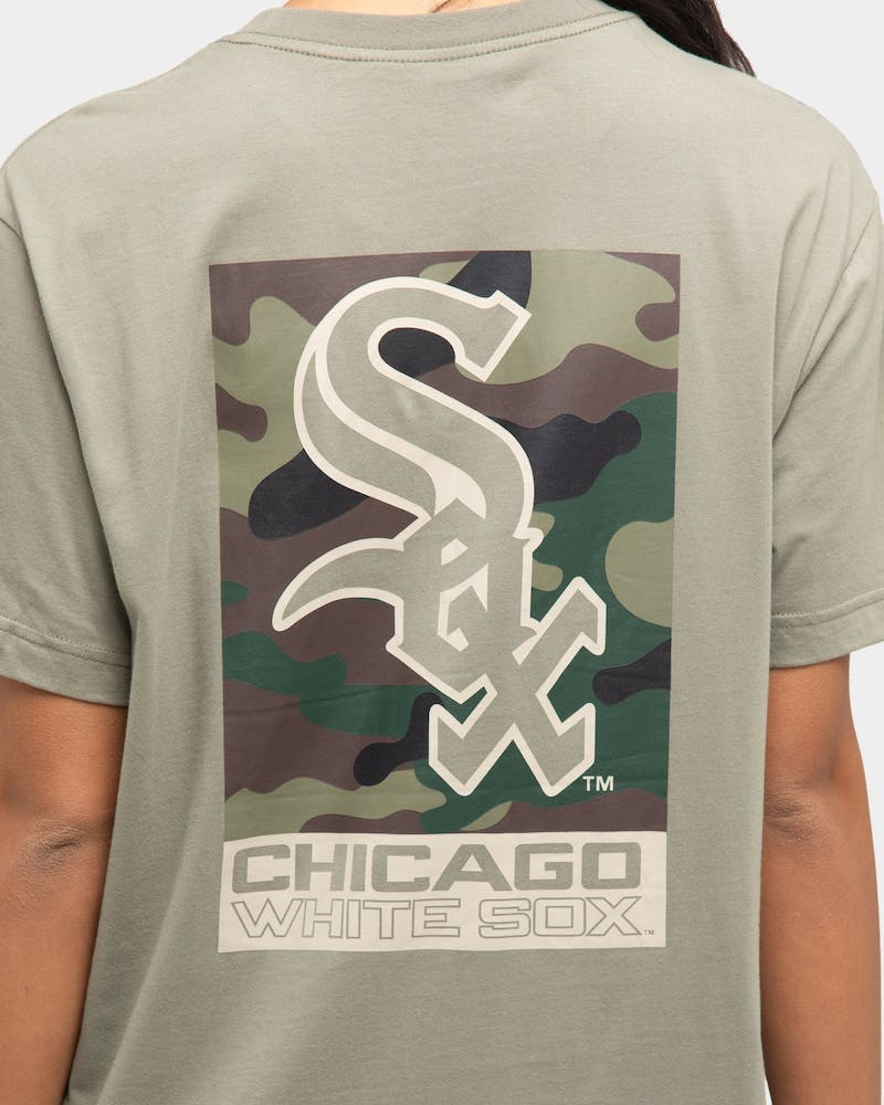 Majestic Athletic Chicago White Sox Pattison Short Sleeve T-Shirt Gravity Grey