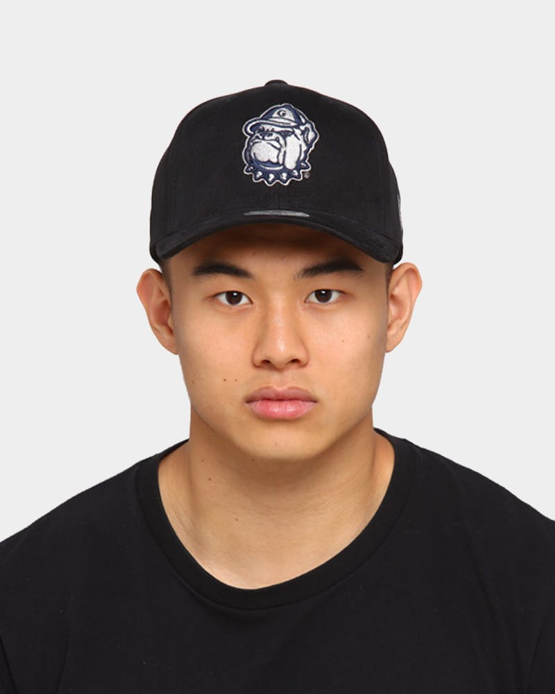 NATIONAL COLLEGIATE ATHLETIC ASSC Georgetown Hoyas Freshman Crown Snapback Black