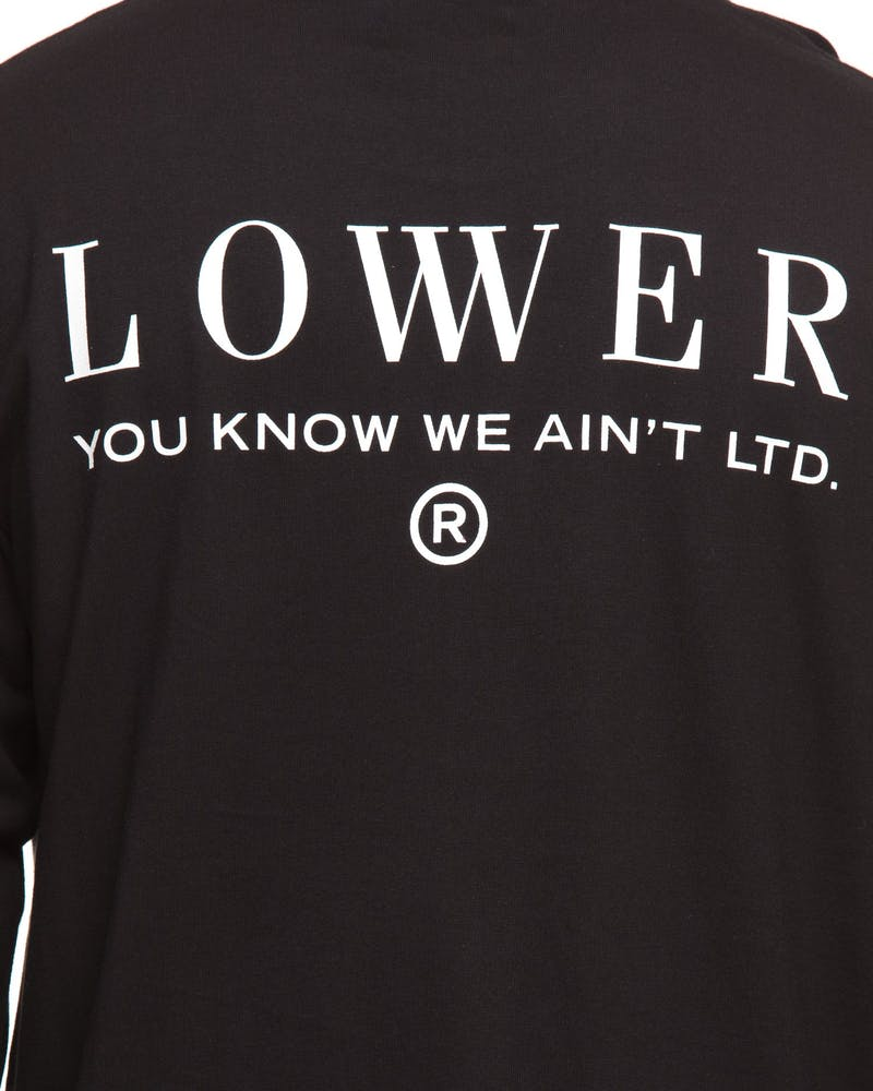 Lower Imperial Long Sleeve Black