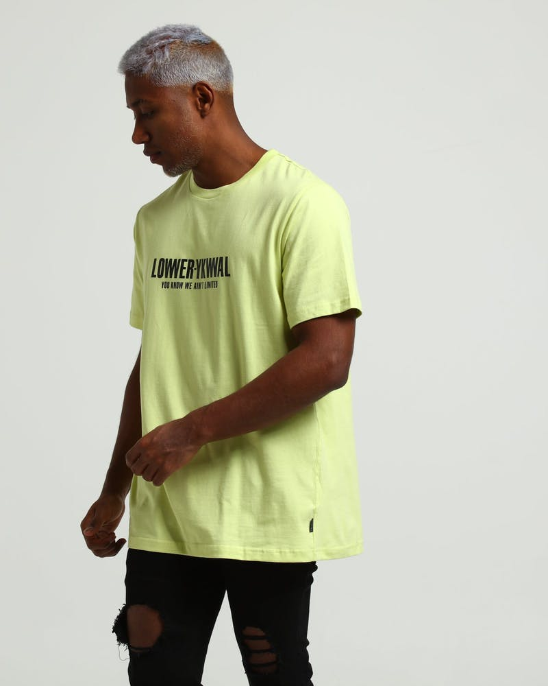 Lower QRS Clout Tee Yellow
