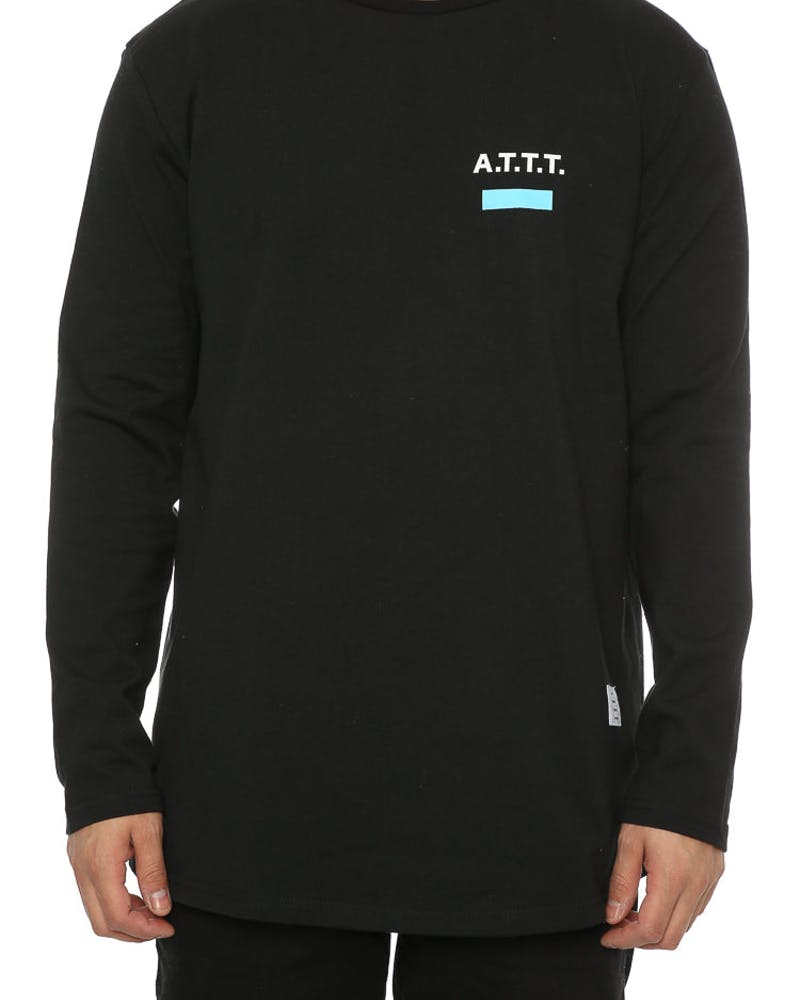 Thing Thing Solid L/S Banner Tee Black