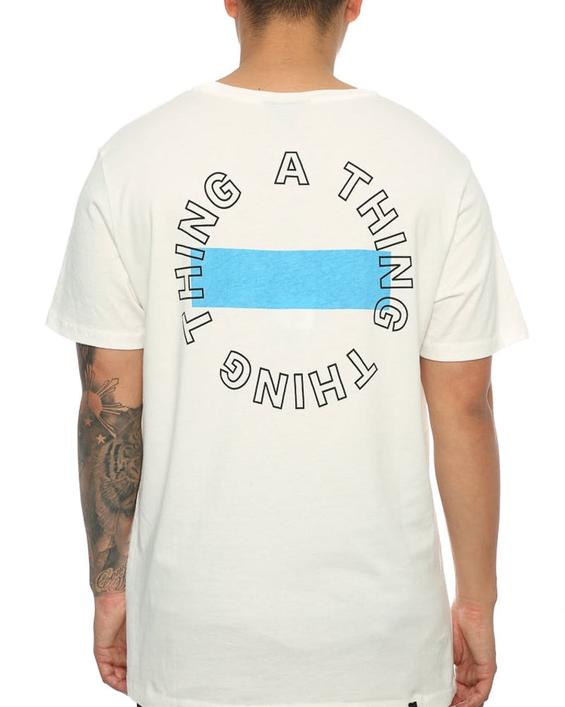 Thing Thing Best Banner Tee White