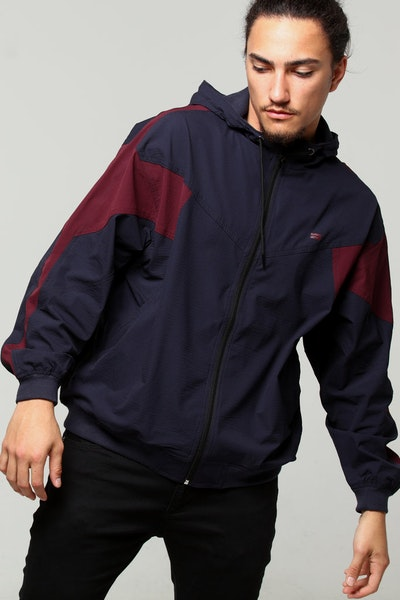 Thing Thing E.R.F.A Jacket Navy/Maroon