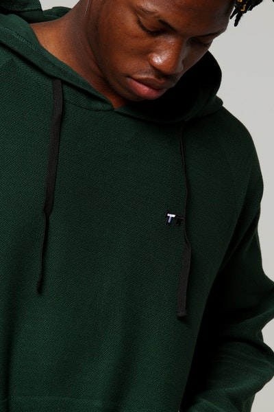 Thing Thing HB Level Hoody Forest Green