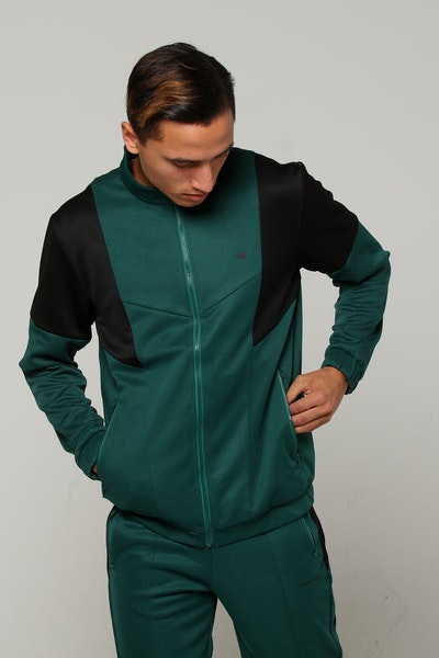 Thing Thing Riddick Track Jacket Emerald Green