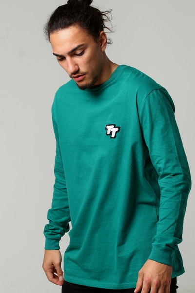 Thing Thing Mid LS Tee Emerald Green