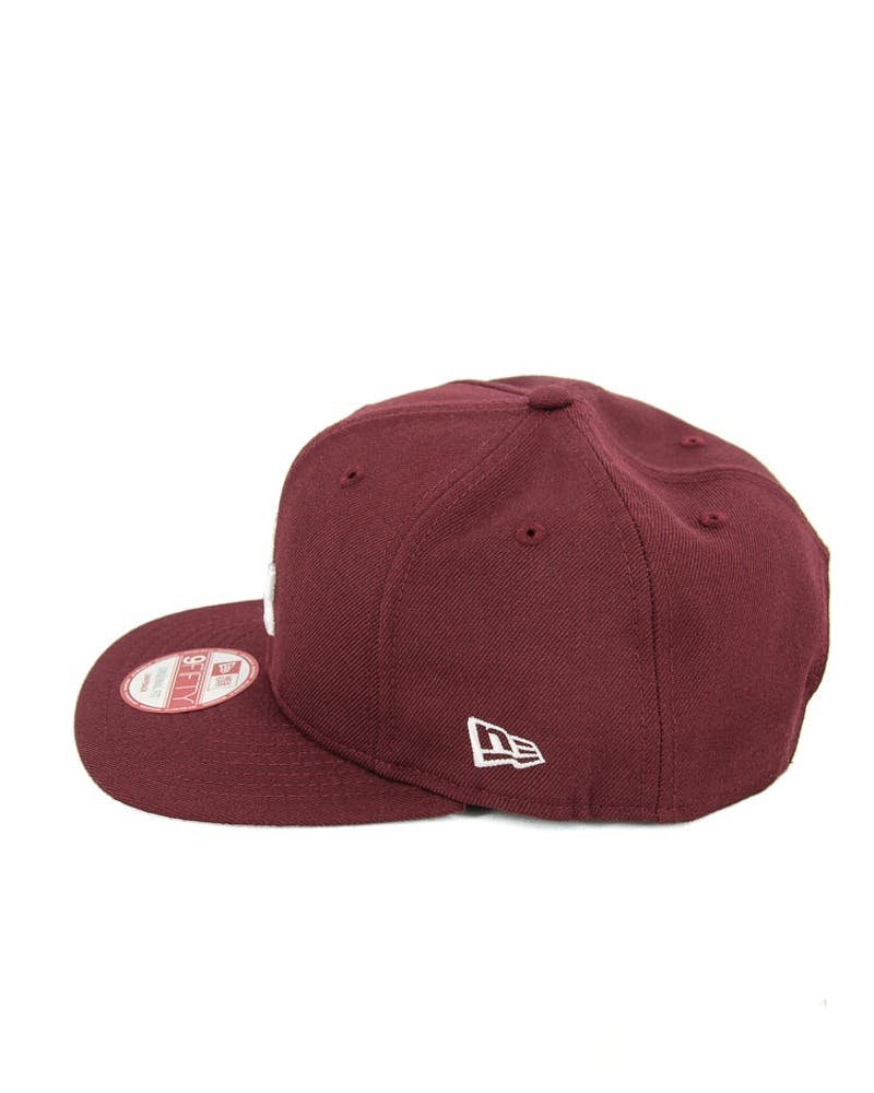 Dodgers Original Fit Snapback Maroon/white