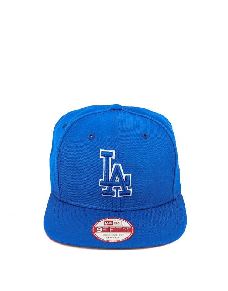 Dodgers Original Fit Snapback Blue/red