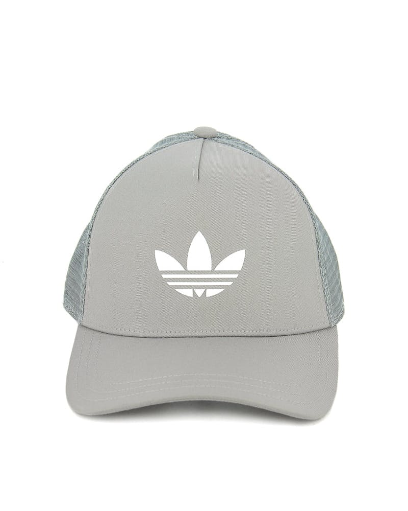 Women's Trefoil Trucker Grey/white