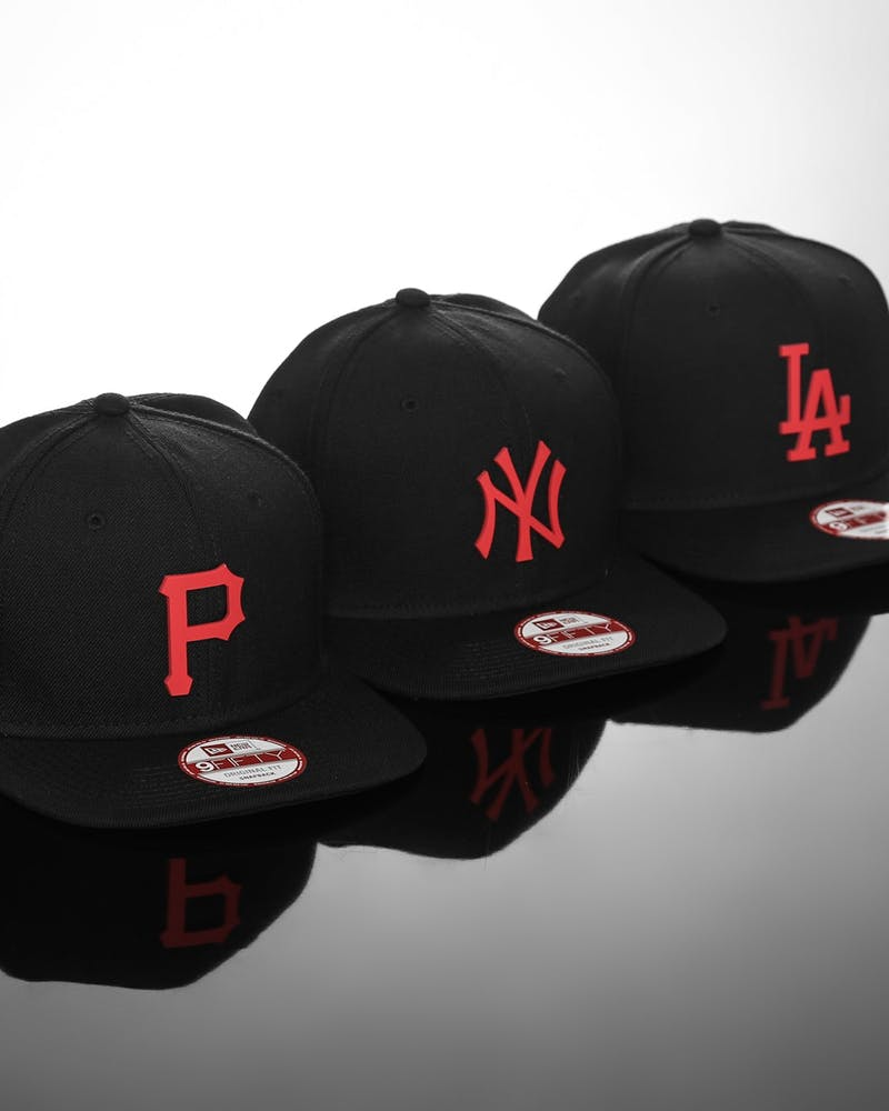 Pirates Orig.fit Metal Snapback Black/red