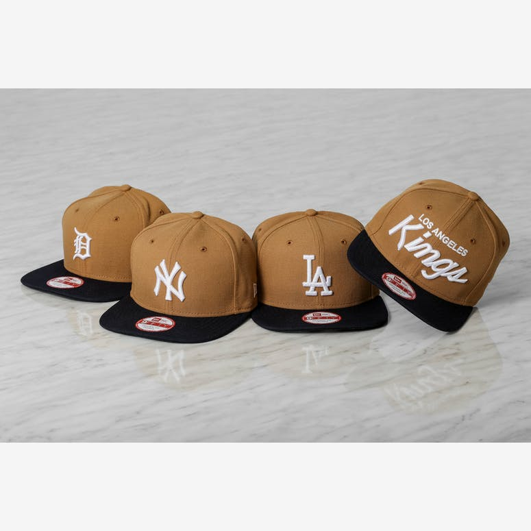 Kings Original Fit Snapback Wheat/navy/whit