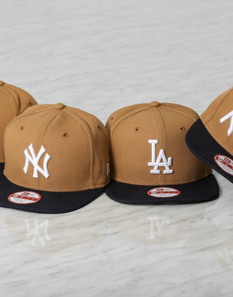 Dodgers Original Fit Snapback Wheat/navy/whit