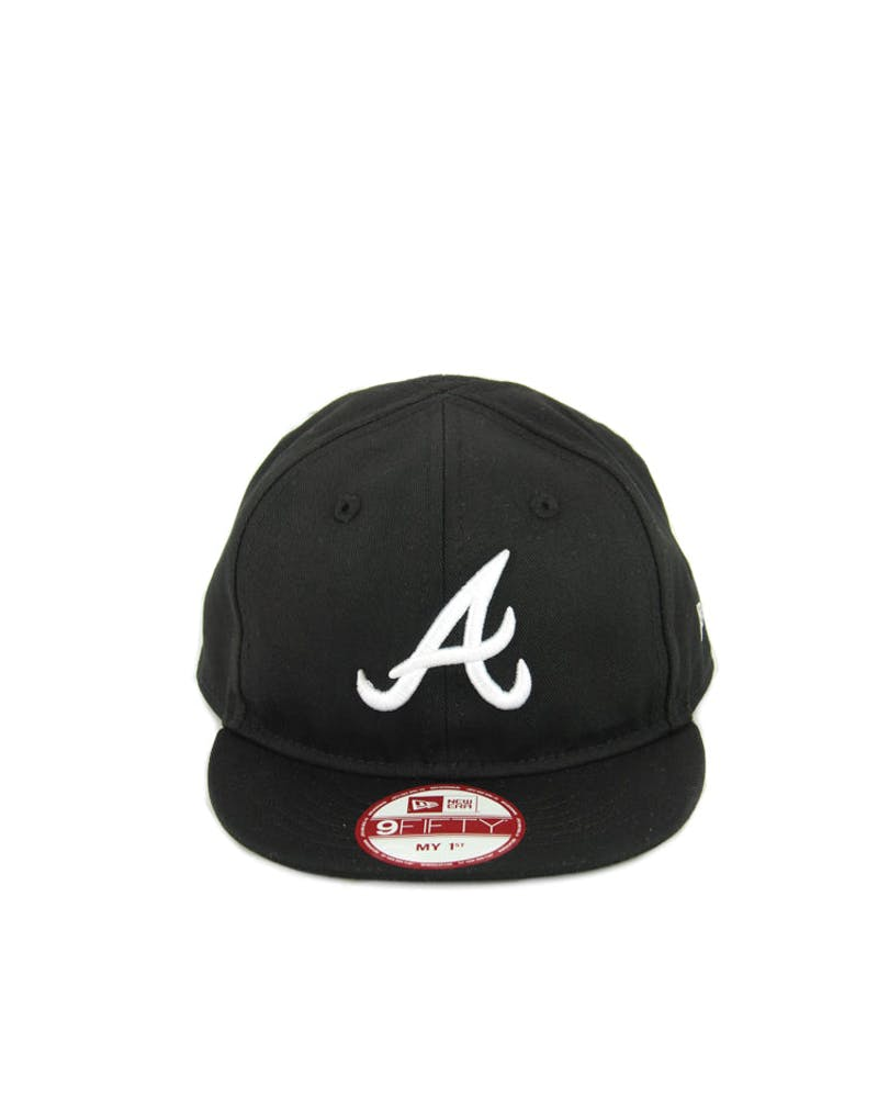 Atlanta Braves MY 1st Snapback Black/white