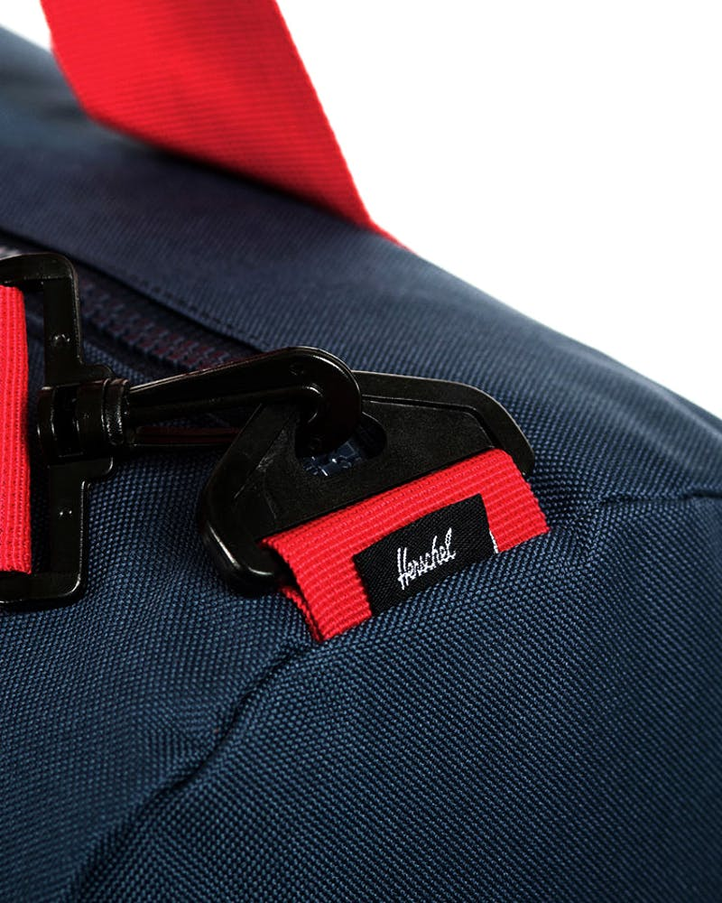 Sutton Mid-volume Navy/red