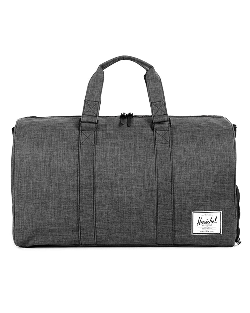 Novel Crosshatch Bag 2 Charcoal/black