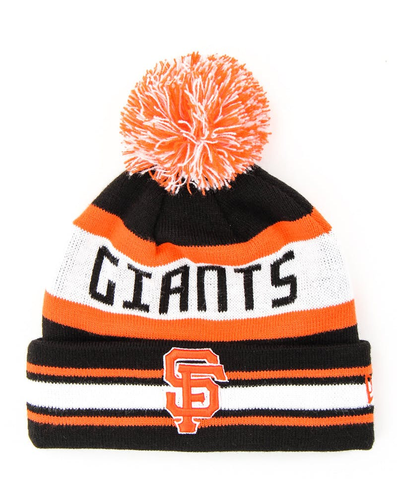 Jake San Francisco Giants Beanie Orange