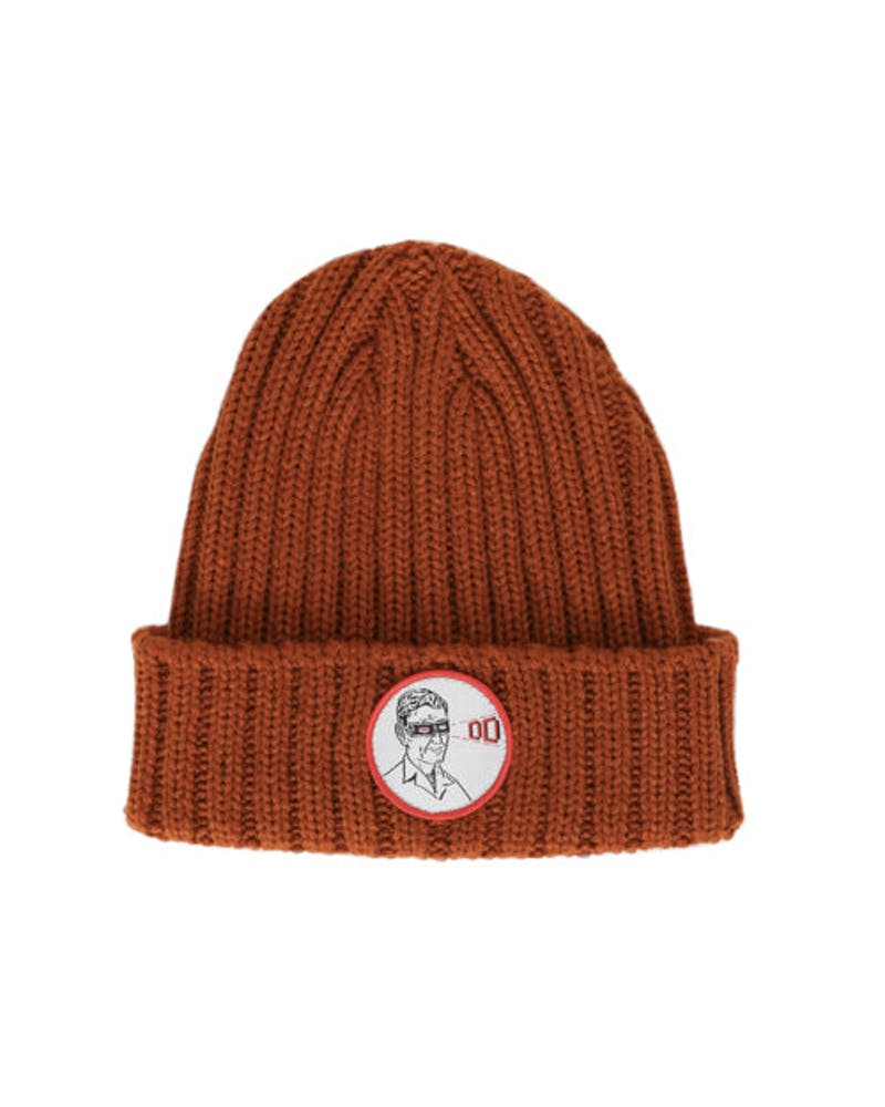 Laser Treatment Beanie Orange