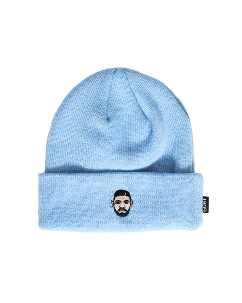 Drizzy Mini Head Beanie Blue