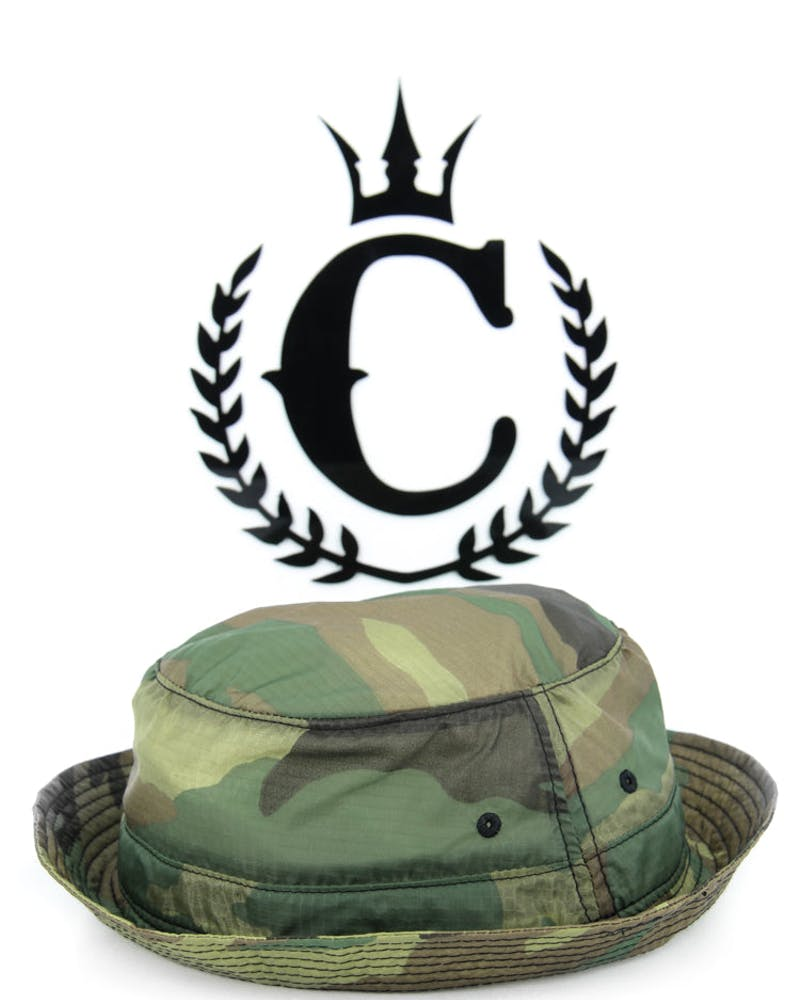 Nylon Ripstop Bucket Hat Camo