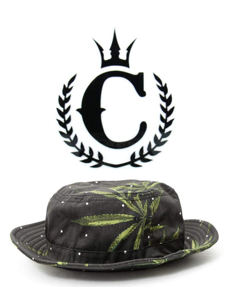 Summer Harvest Bucket Hat Black