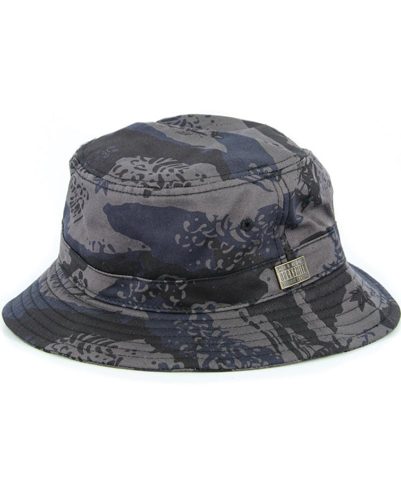 Great Wave Bucket Hat Black