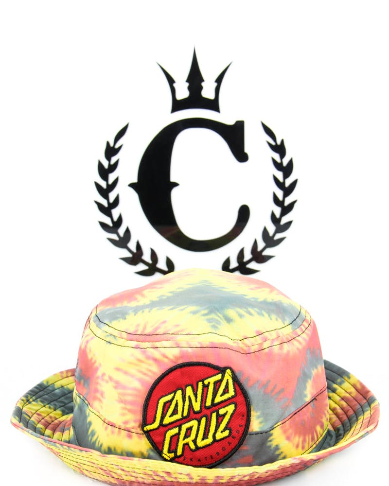 Big Dot Bucket Hat Tie Dye