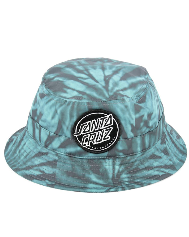 Dye Dot Bucket Hat Black/teal