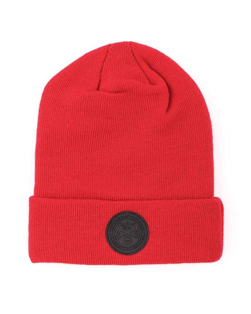 Seal Beanie Red