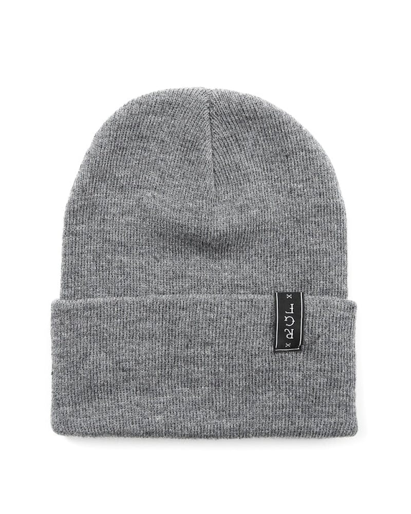 NO Cigar Beanie Grey/black/yell